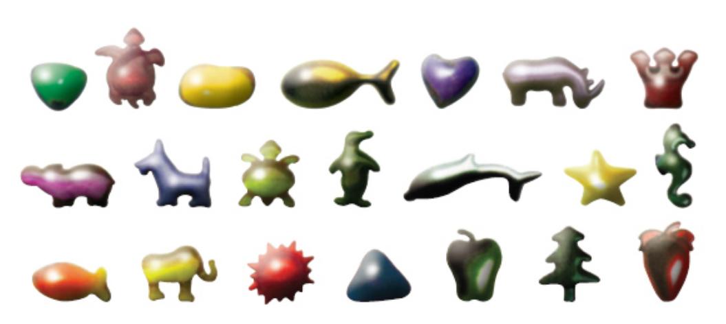 Kapsułki żelatynowe wniestandardowych kształtach